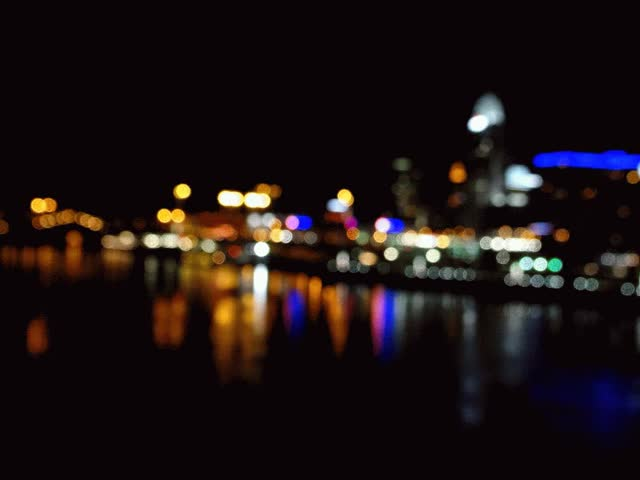 Watch and share Bokeh Cincinnati Skyline GIFs by mysimulacrum on Gfycat
