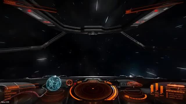 Elite: Dangerous Supercruise and Hyperspace Jump Showcase (reddit