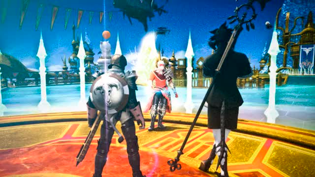 Watch and share Final Fantasy Xiv GIFs and Excalibur GIFs on Gfycat