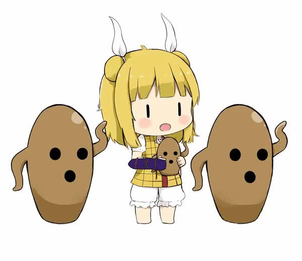 Watch and share Touhou Project GIFs and Haniwa GIFs by Touhou FC on Gfycat