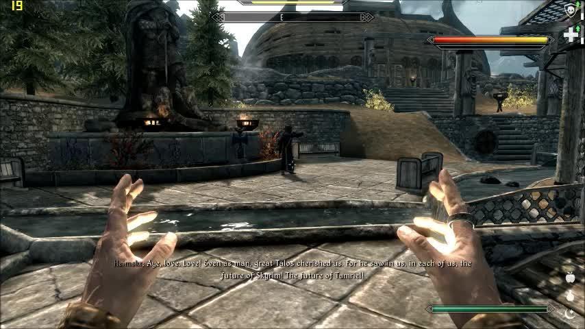 Skyrimrequiem, games, skyrimrequiem, Fireboom GIFs