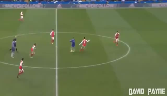 Watch EDEN HAZARD Goal - Chelsea vs Arsenal 2-0 EPL 04-02-2017 HD SOLO GIF on Gfycat. Discover more related GIFs on Gfycat