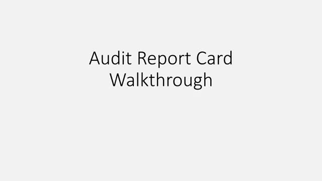 Watch and share Audit Report Card Walkthrough GIFs on Gfycat