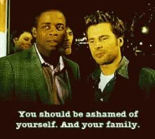 Watch Ashamed You Should Be Ashamed GIF on Gfycat. Discover more dulé hill, james roday GIFs on Gfycat