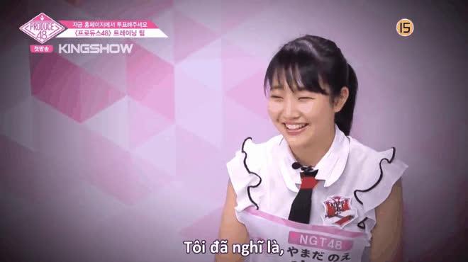 Không phải team Nhật hay Hàn, đây mới là nhân vật chiếm spotlight của vòng xếp lớp Produce48