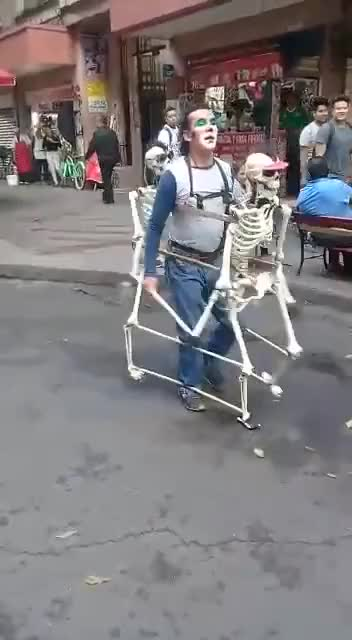 Watch Simply the best!! Dancing with skeletons GIF by @radiantemployment on Gfycat. Discover more related GIFs on Gfycat