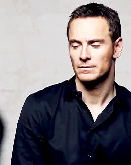Watch fassbender GIF on Gfycat. Discover more details photo shoot, fassbenderedit, i can stare at him forever, michael fassbender, mygifs, perfect face, perfect male model, too handsome GIFs on Gfycat