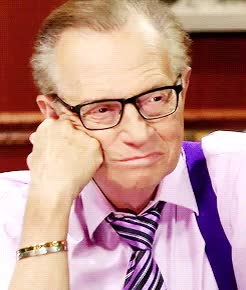 Watch this larry king GIF on Gfycat. Discover more ***, 1k, anna gunn, gif*, i am larry, larry king, literally same GIFs on Gfycat