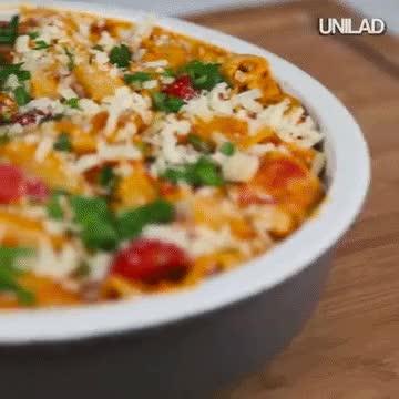 Watch and share Heres How To Make Creamy Chicken & Chorizo Pasta Pasta6 GIFs on Gfycat