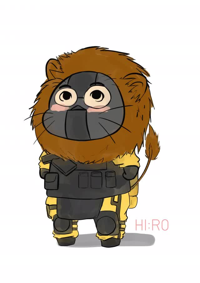 Watch and share Rainbowsix GIFs and Cute GIFs by Rawinnipha Phanphanich on Gfycat