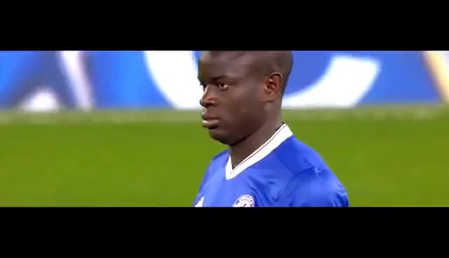 Watch and share N'Golo Kante Vs Manchester United (Home) FA Cup 16-17 HD 1080i GIFs on Gfycat