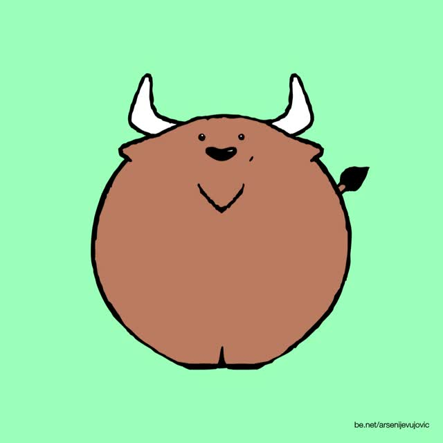 Watch and share Animation Illustration Buffalo Gif GIFs on Gfycat