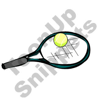 Tennis Racket And Ball Animated Clip Art Gif Find Make Share