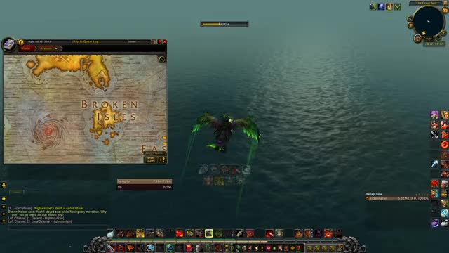 Watch and share Broken Isle To Northrend GIFs by DTJames on Gfycat