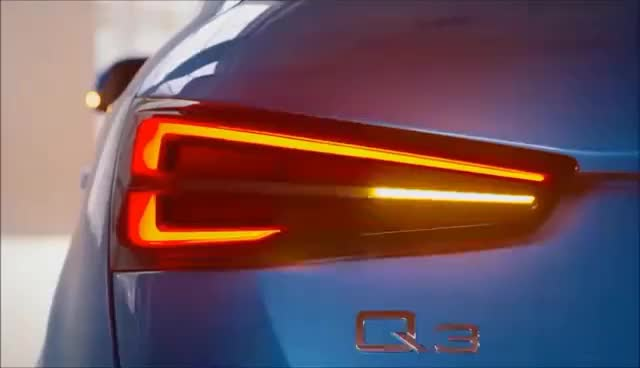 Watch and share 2016 Audi Q3  ► LED SHOW GIFs on Gfycat