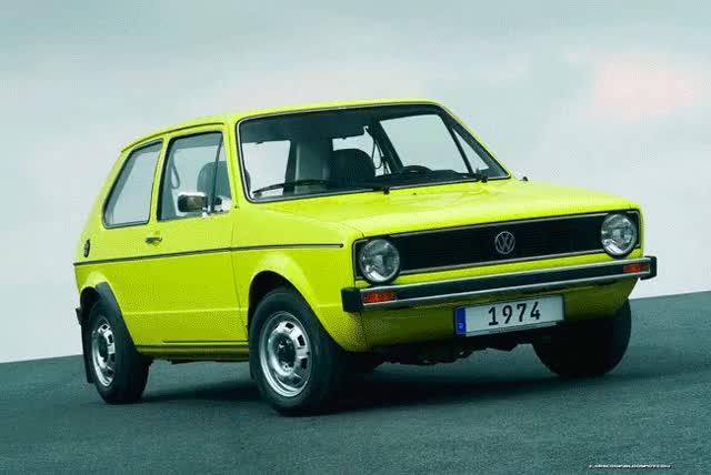 Watch and share Volkswagen Golf Mk1-7 Evolution GIF GIFs on Gfycat