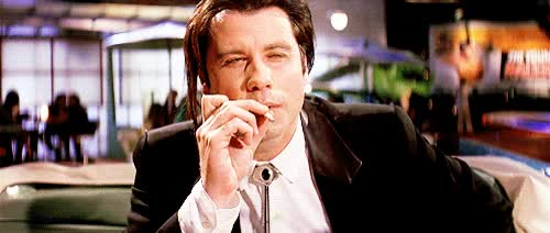 Watch and share John Travolta Pulp Fiction GIFs on Gfycat