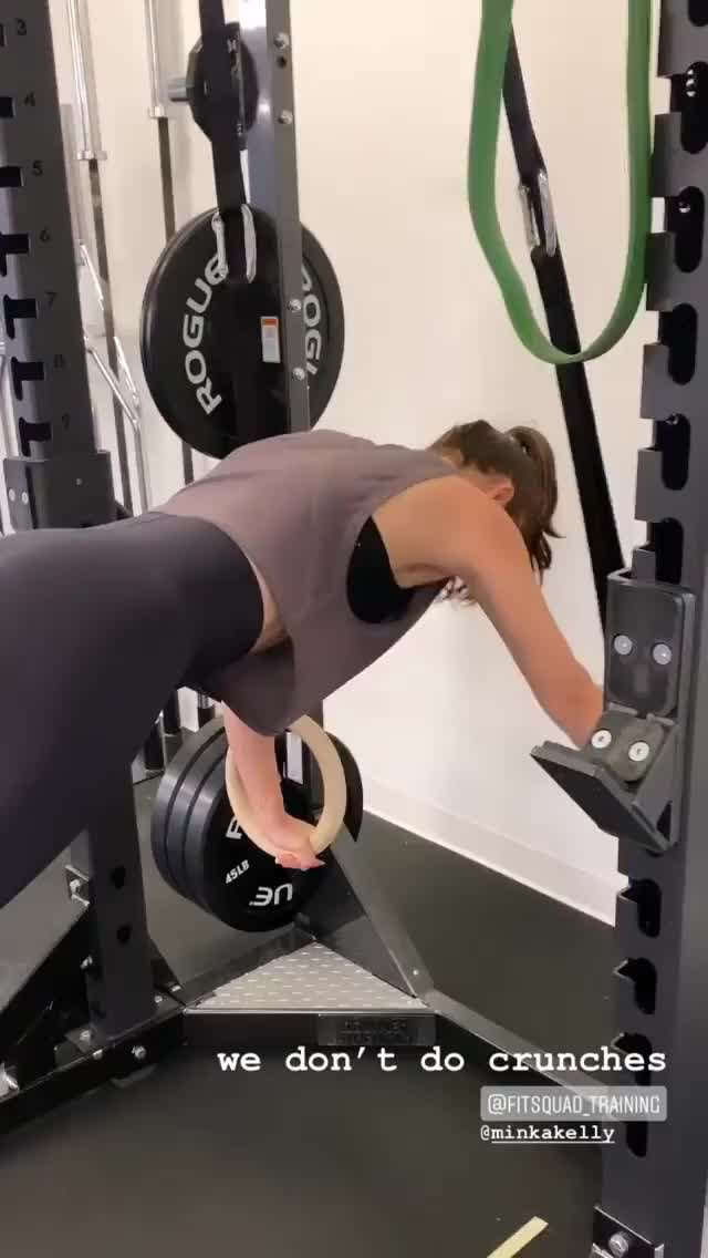 Watch and share MInka Kelly Working Out Sept 10 Video 2 GIFs on Gfycat