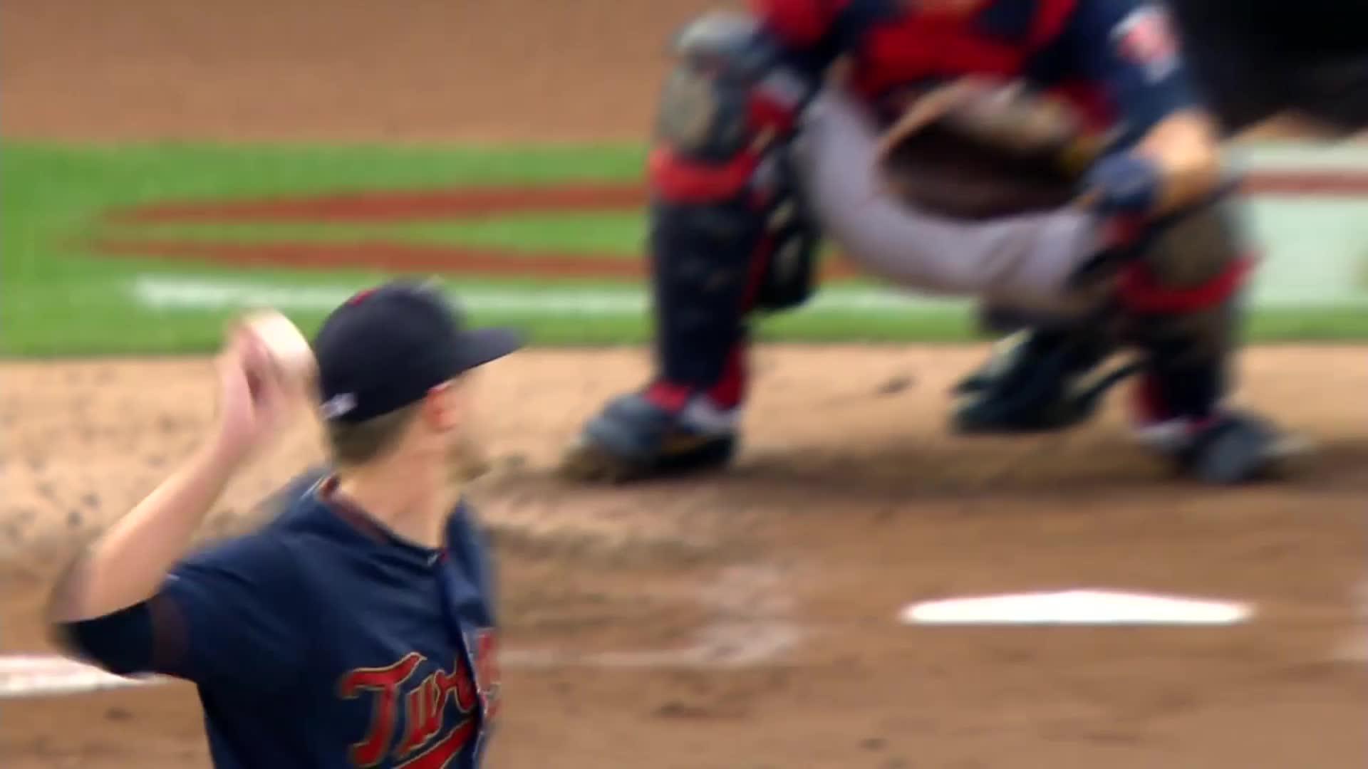 atlanta, atlanta braves, baseball, braves, Josh Donaldson starts walking to first base before pitch reaches catcher. GIFs
