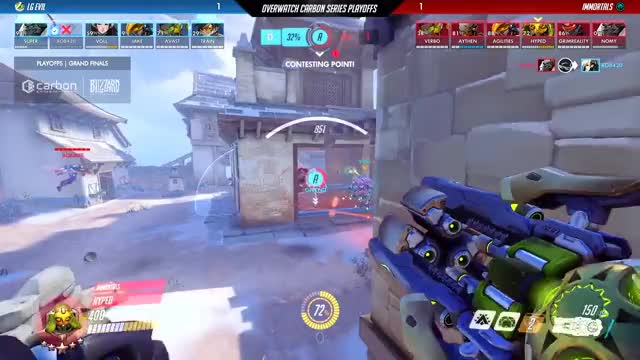 Watch and share Immortals Vs LG Evil | Overwatch Carbon Series Playoffs | Grand Finals GIFs by Damian Alonzo on Gfycat