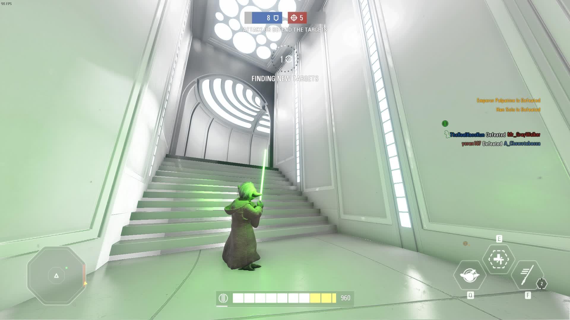 starwarsbattlefront, Star Wars Battlefront II Glitch on Bespin GIFs