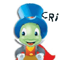 Watch and share Pepe Grillo CRI CRI animated stickers on Gfycat
