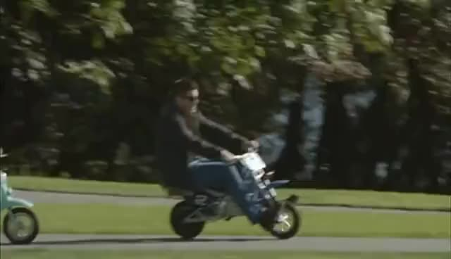 Watch and share Mini Motorcycle GIFs and Sam Winchester GIFs on Gfycat