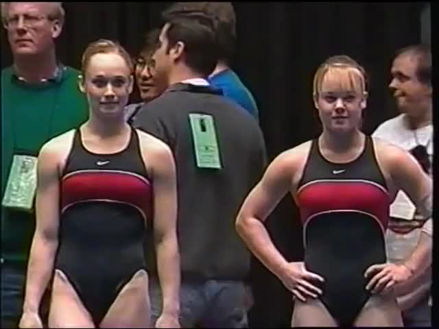 Watch 1999 NCAA Georgia Gymnastics 3 GIF by @gymnastica on Gfycat. Discover more related GIFs on Gfycat