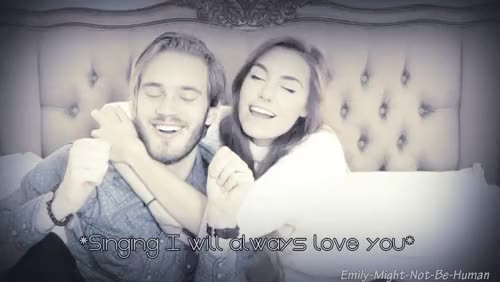 Watch The singing was beautiful. [x] GIF on Gfycat. Discover more Brotag, Cutiepiemarzia, Emily gifs, This is cute, felix, marzia, marzia bisognin, marzipan, pewdie, pewdiepie, pewdiepie-stan-club GIFs on Gfycat