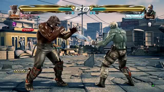 Watch and share Tekken GIFs by cascadebeta on Gfycat