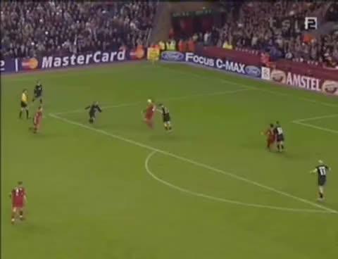 Watch and share Steven Gerrard Cracker Vs Olympiakos GIFs on Gfycat