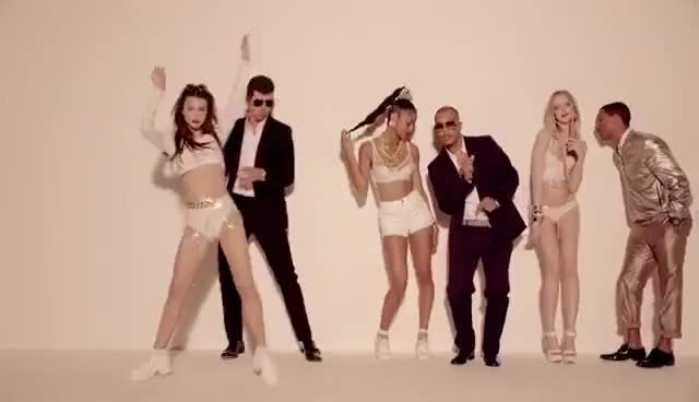 Watch and share Blurred Lines GIFs and Robin Thicke GIFs on Gfycat
