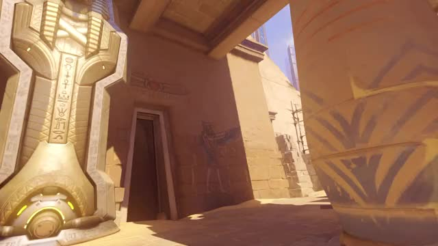 Watch Backfill Widowmaker Saves the Day GIF by solarbirdy (@solarbird) on Gfycat. Discover more backfill, console, gaming, overwatch, play of the game, potg, ps4, temple of anubis, widowmaker GIFs on Gfycat
