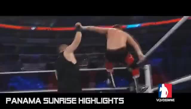 Watch and share Sami Zayn Vs. Kevin Owens: WWE Battleground 2016 / Highlights / [HD] GIFs on Gfycat