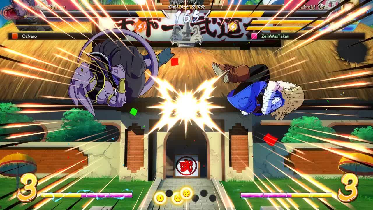 Dragon Ball FighterZ, dbfz, the perfect run under GIFs