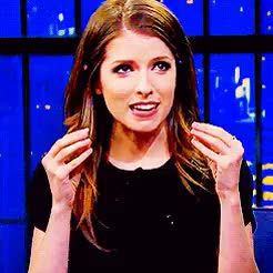 Watch and share Anna Kendrick GIFs and Interview GIFs on Gfycat