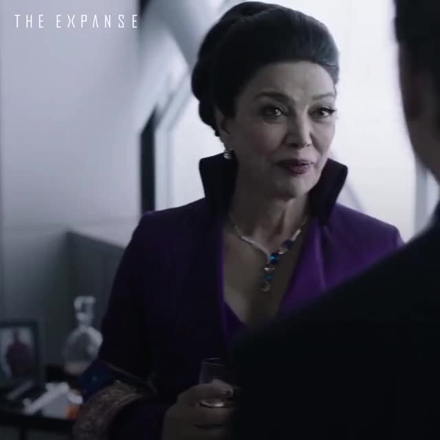 Watch and share Shohreh Aghdashloo GIFs and The Expanse GIFs by Shohreh Aghdashloo on Gfycat