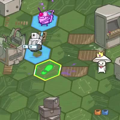 Watch and share Pit People - Robot - Immunities GIFs by behemothgames on Gfycat