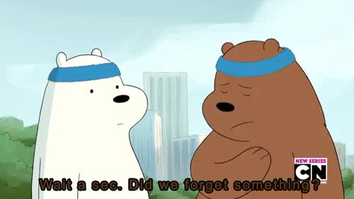 Watch this GIF on Gfycat. Discover more Grizz, gif, grizzly, ice bear, panda, we bare bears GIFs on Gfycat