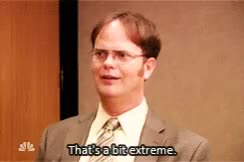 rainn wilson, dwight extreme.mp4 GIFs