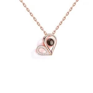 Watch and share I Love You Projection Necklace GIFs by Livfeel Store on Gfycat