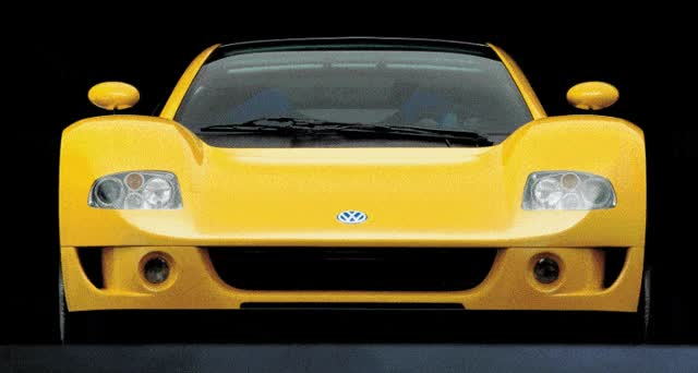 Watch and share 1997 Volkswagen W12 SYNCHRO Coupe Concept Is Giugiaro Masterpiece GIFs on Gfycat