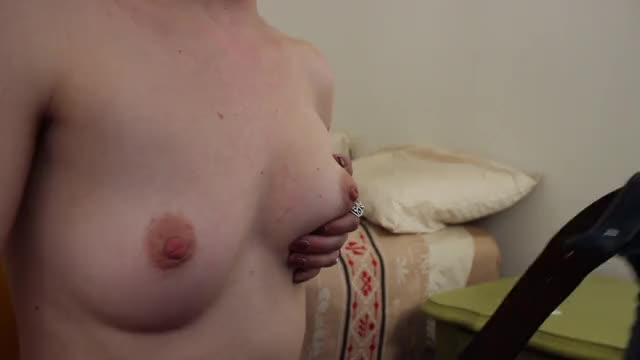 Shooting his load all over my perky tits. Hope you enjoy!