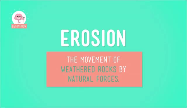 Watch and share Weathering And Erosion: Crash Course Kids #10.2 GIFs on Gfycat