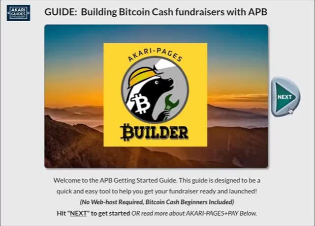 Watch AKARI-Pages Builder GUIDE, Step-by-step Instructions for Bitcoin Cash crowd-fundraising GIF by AKARI (@akari_bitcoin) on Gfycat. Discover more bchforeveryone, bitcoin, bitcoin cash, blockchain, crypto, cryptocurrency GIFs on Gfycat