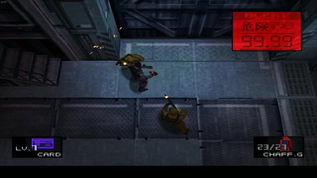 Watch and share Metal Gear Solid Invincibility Glitch GIFs by maniac_34 on Gfycat