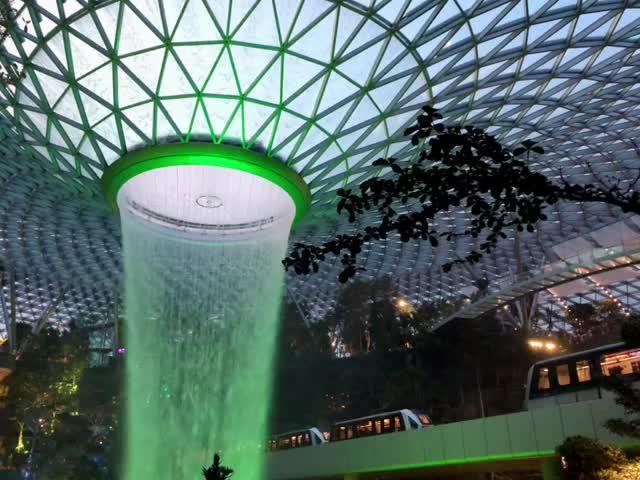 Jewel HSBC Rain Vortex Loop