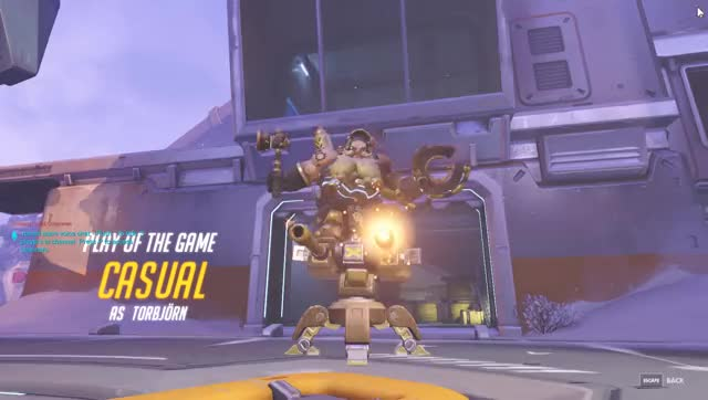 Watch Torbjorn getting into the fray GIF on Gfycat. Discover more overwatch GIFs on Gfycat