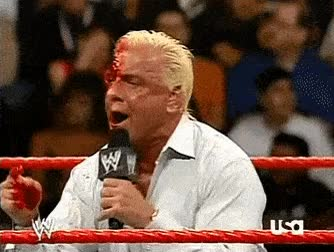 Watch and share Ric Flair Face Paint For Halloween • R/SquaredCircle GIFs on Gfycat