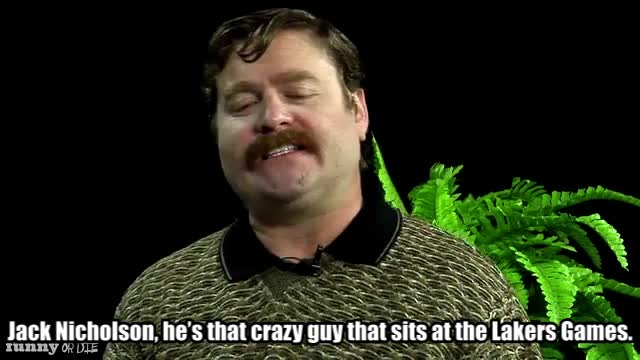 Between Two Ferns with Zach Galifianakis, FoD, Funny or Die, Sean Penn, funnyoride, lakers games GIFs